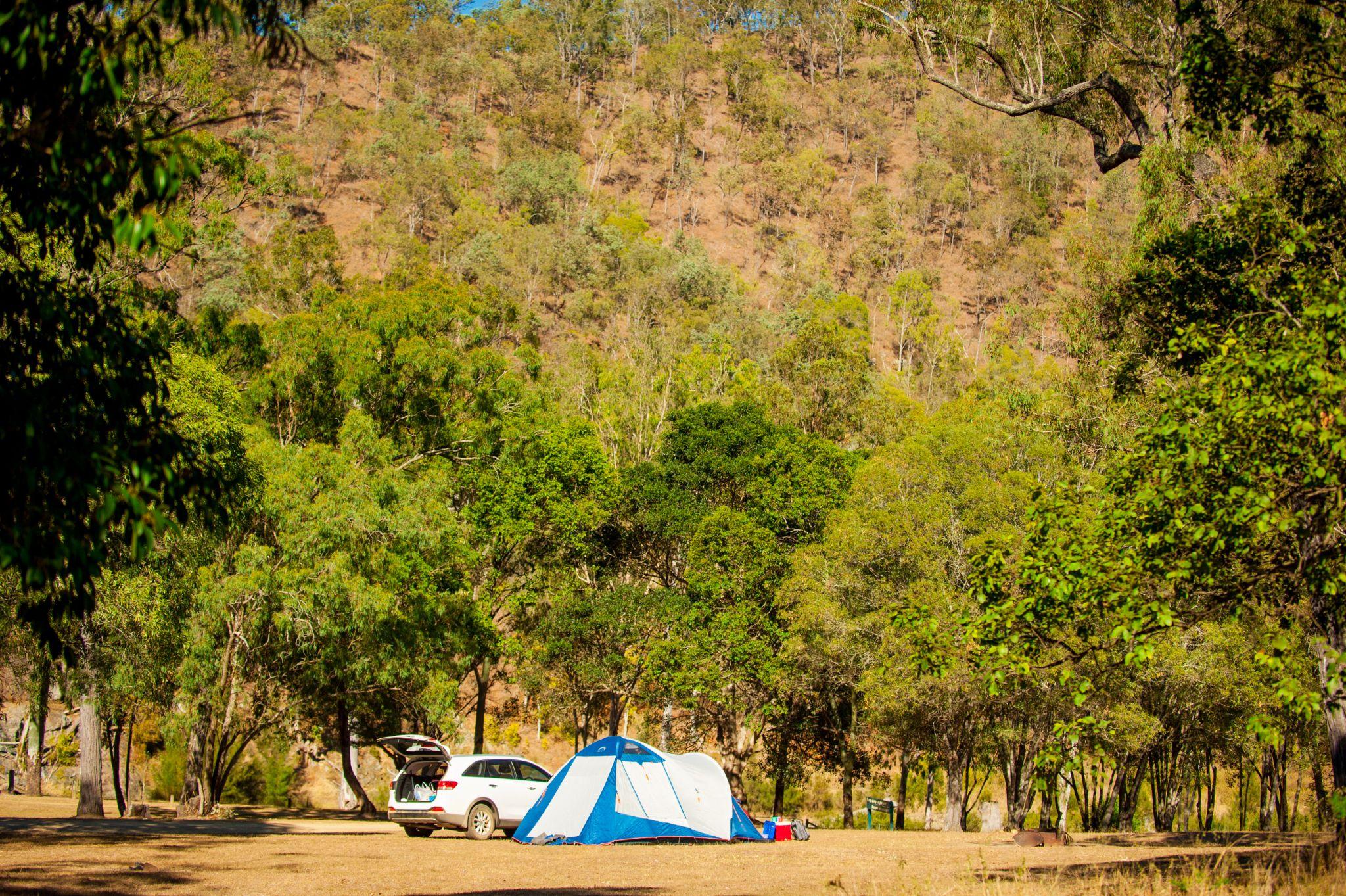 camping in Emu Park